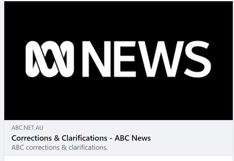 ABC apologises after FWCA complaint